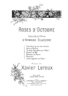 Roses d'octobre: Roses d'octobre by Xavier Leroux