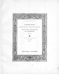 Fantasie dramatische: Fantasie dramatische by Alphonse Jean Ernest Mailly