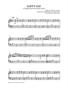 O Happy Day: Für Klavier by Philip Doddridge