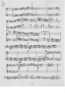 Konzert über 'Auprès de ma blonde': Orchesterstimmen by Ernst Levy