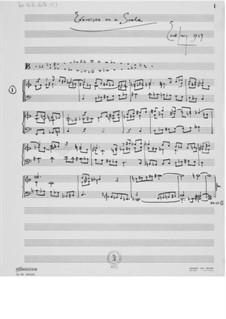 Studien zu einer Skala: Für Klavier by Ernst Levy