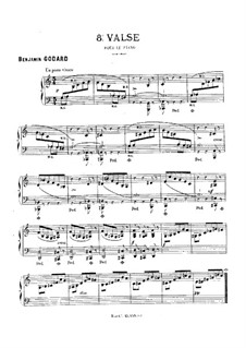 Walzer in C-Dur, Op.103 No.6: Walzer in C-dur by Benjamin Godard