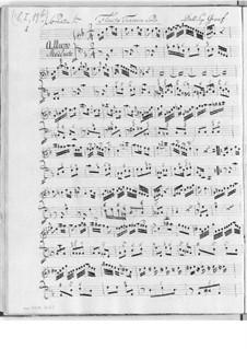 Sonaten für Flöte und Basso Continuo: Sonaten für Flöte und Basso Continuo by Christian Ernst Graf
