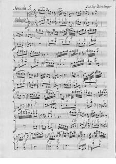 Vier Sonaten für Flöte und Basso Continuo: Vier Sonaten für Flöte und Basso Continuo by Johann Kirnberger