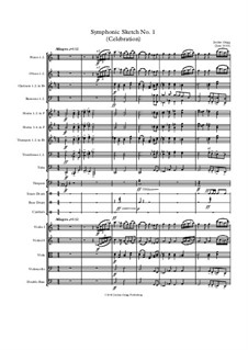 Symphonic Sketch No.1 (Celebration): Symphonic Sketch No.1 (Celebration) by Jordan Grigg