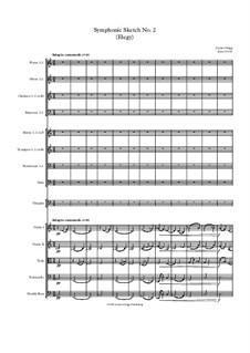 Symphonic Sketch No.2 (Elegy): Symphonic Sketch No.2 (Elegy) by Jordan Grigg