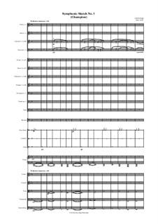 Symphonic Sketch No.3 (Champion): Symphonic Sketch No.3 (Champion) by Jordan Grigg