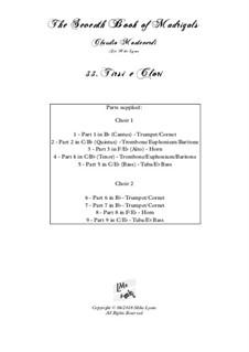 Book 7 (Concerto), SV 117–145: No.33 Tirsi e Clori by Claudio Monteverdi