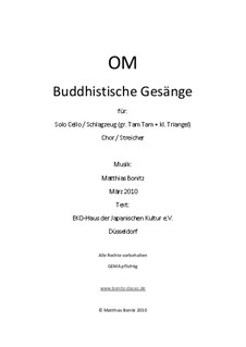 OM Buddhistische Gesänge: OM Buddhistische Gesänge by Matthias Bonitz