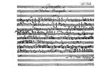 Konzert für Violine und Orchester, BI 519: Konzert für Violine und Orchester by Alessandro Rolla