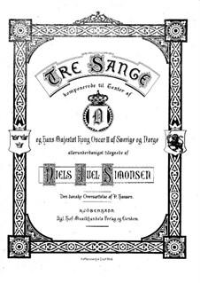 Drei Lieder: Drei Lieder by Niels Juel Simonsen