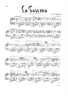 La Paloma (Die Taube): B-Dur by Sebastián Yradier
