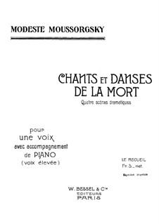 Lieder und Tänze des Todes: Für Stimme und Klavier by Modest Mussorgski