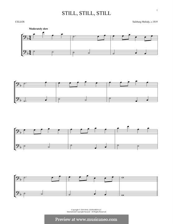 Still, Still, Still: Für zwei Violinen by folklore