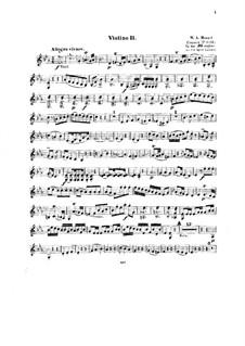 Konzert für Klavier und Orchester Nr.14 in Es-Dur, K.449: Bearbeitung für Streichquartett – Violinstimme II by Wolfgang Amadeus Mozart