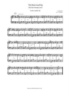 Mo Rùn Geal Òg / An Gille Dubh Ciar-Dhubh: No.1 Mo Run Geal Og (My Fair Young Love) by folklore