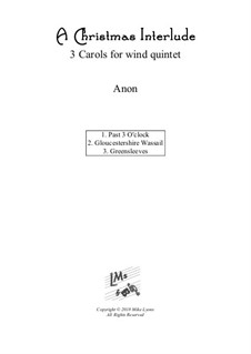Christmas interlude: For wind quintet by folklore