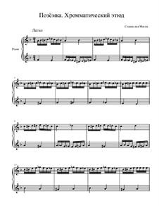 Картинки природы, Op.7: No.5 Позёмка by Stanislav Magen