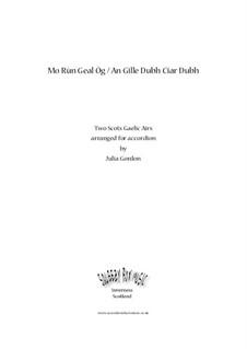 Mo Rùn Geal Òg / An Gille Dubh Ciar-Dhubh: Vollsammlung by folklore
