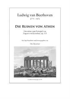 Ouvertüre: Für Orgel by Ludwig van Beethoven
