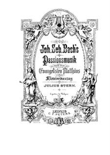 Complete Oratorio: Klavierauszug mit Singstimmen by Johann Sebastian Bach