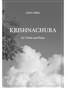 Krishnachura: Für Violine und Klavier by Lena Orsa