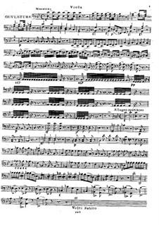 Eliza ou Le Voyage aux Glaciers du Mont St. Bernard: Overture, for String Quartet – Viola Part by Luigi Cherubini