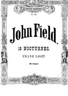 Nocturnes für Klavier: Vollständiger Satz by John Field