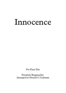 Nr.5 Unschuld: For flute trio by Johann Friedrich Burgmüller