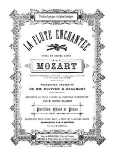Vollständige Oper: Für Solisten, Chor und Klavier by Wolfgang Amadeus Mozart