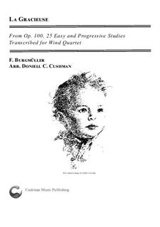 Nr.8 Anmut: For wind quartet by Johann Friedrich Burgmüller