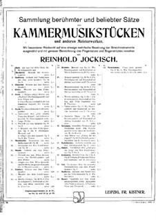 Drei Streichquartette Nr.7-9, Op.9: Quartett in g-Moll. Teil II 'Gott schütze den König' – Violinstimme I by Georges Onslow