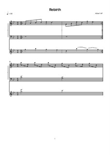 Rebirth: Für Violine und Klavier by Albert Podlyavsky