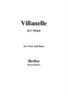Les nuits d'été (Summer Nights),  H.81 Op.7: No.1 Villanelle (C Major) by Hector Berlioz