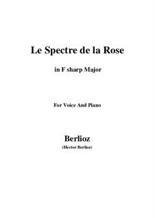 Les nuits d'été (Summer Nights),  H.81 Op.7: No.2 Le spectre de la rose (F sharp Major) by Hector Berlioz
