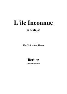 Les nuits d'été (Summer Nights),  H.81 Op.7: No.6 L'île inconnue (A Major) by Hector Berlioz