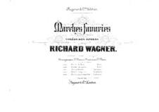 Rienzi, der Letzte der Tribunen, WWV 49: Friedensmarsch, für zwei Klaviere, achthändig – Klavierstimme I by Richard Wagner