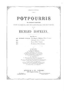 Potpourri über 'Tannhäuser' von Wagner für Flöte, Violine, Cello und Klavier: Flötenstimme by Richard Hofmann