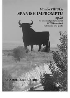 Spanish impromptu, Op.28: Spanish impromptu by Mihajlo Vihula