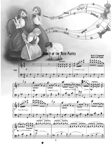 Nr.7 Tanz der Mirlitons: Für Klavier by Pjotr Tschaikowski