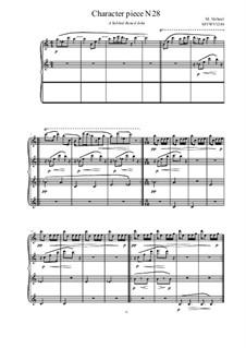 Musica sanitatem: No.28 for piano, MVWV 1248 by Maurice Verheul