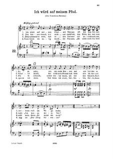 An die Hoffnung, K.390 (340c): Für hohe Stimme und Klavier by Wolfgang Amadeus Mozart