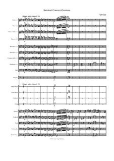Satirical Concert Overture: Satirical Concert Overture by Jordan Grigg