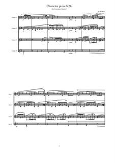 Musica sanitatem: No.26 for Guitar quartet, MVWV 1243 by Maurice Verheul