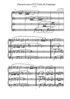 Musica sanitatem: No.25 for piano, MVWV 1242a by Maurice Verheul