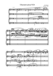 Musica sanitatem: No.24 for piano, MVWV 1245 by Maurice Verheul