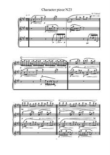 Musica sanitatem: No.23 for Piano, MVWV 1241 by Maurice Verheul