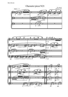 Musica sanitatem: No.21 for Piano, MVWV 1239 by Maurice Verheul