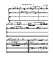 Musica sanitatem: No.20 for Piano, MVWV 1238a by Maurice Verheul