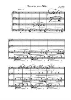 Musica sanitatem: No.16 for Piano, MVWV 1233 by Maurice Verheul
